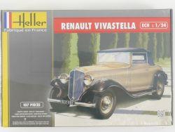 Heller 80724 Renault Vivastella Bausatz 1/24 Kit NEU Folie OVP