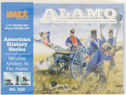 IMEX 520 Figuren Mexican Artillery Alamo American History OVP