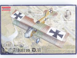 Roden 006 Albatros D.II World War O.Boelcke 1/72 Kit NEU! OVP