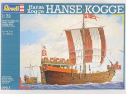Revell 05411 Hansa Kogge Handelsschiff Segelschiff 1/72 NEU! OVP