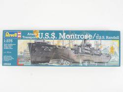 Revell 05018 USS Montrose Randall Attack Kit 1/375 NEU! OVP