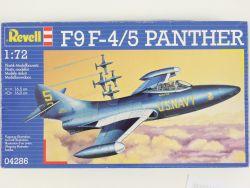 Revell 04286 F9 F-4/5 Panther Kampfflugzeug Kit 1:72 MIB NEU OVP ST