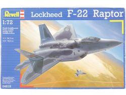Revell 04618 Lockheed F-22 Raptor USAF Kit 1:72 MIB NEU! OVP