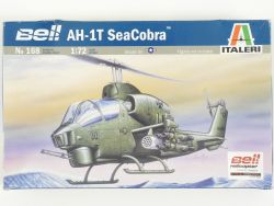 Italeri 168 Bell AH-1T SeaCobra Helicopter Kit 1:72 MIB NEU! OVP