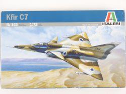 Italeri 163 Kfir C7 Israeli Air Force Bausatz 1:72 MIB NEU! OVP