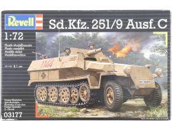Revell 03177 Hanomag Sd.Kfz.251/9 Ausf.C Panzer 1:72 MIB NEU OVP