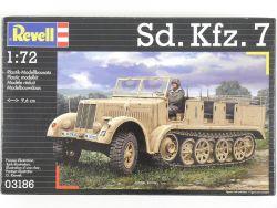 Revell 03186 Sd.Kfz.7 Halbkettenfahrzeug WK2 1:72 MIB NEU! OVP