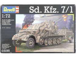 Revell 03195 Sd.Kfz.7/1 Halbkettenfahrzeug WK2 1:72 MIB NEU! OVP