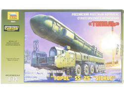 Zvezda 5003 Topol SS-25 Sickle Soviet Launcher Kit 1:72 MIB! OVP