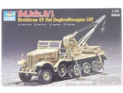 Trumpeter 07251 Sd.Kfz.9/1 Drehkran 6T Zugkraftwage 1:72 MIB OVP