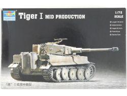 Trumpeter 07243 Tiger I Mid Prod. Militär Panzer 1:72 MIB! OVP