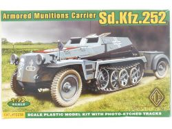 Ace 72238 Sd.Kfz.252 Armored Munitions Carrier WWII 1:72 MIB OVP