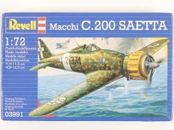 Revell 03991 Macchi C.200 Saetta Blitz Jagdflugzeug 1:72 MIB OVP ST