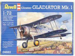Revell 04683 Gloster Gladiator Mk.1 Abfangjäger 1:72 MIB NEU OVP