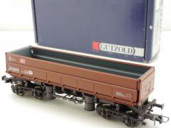 Gützold 44100 Schüttgut-Kippwagen Fas 126 DB H0 braun NEU! OVP ST