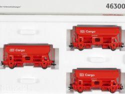 Märklin 46300 Schwenkdachwagen-Set DB Cargo AG H0 KKK NEU! OVP