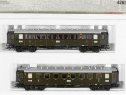 Märklin 4261 Set Schnellzugwagen Reichsbahn DRG KKK NEU! OVP