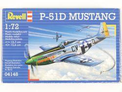 Revell 04148 P-51D Mustang Kampfflugzeug WWII 1:72 MIB NEU! OVP