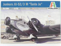Italeri 150 Junkers JU-52/3 M Tante Ju Kit 1:72 MIB NEU! OVP