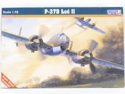 MisterCraft 040086 P-37B Los II Polish Bomber 1/72 MIB NEU! OVP
