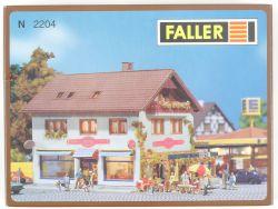 Faller 2204 City-Café Konditorei Bausatz Kit Spur N NEU! OVP