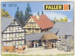 Faller 2572 Weinpresse Sasbach Bausatz Kit Spur N NEU! OVP