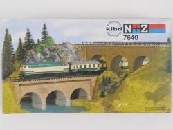 Kibri 7640 2x Steinbogenbrücke Spur N + Z Bausatz Kit NEU OVP