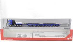Herpa 153416 Scania R TL Tieflade-Sattelzug Hochtief NEU! OVP