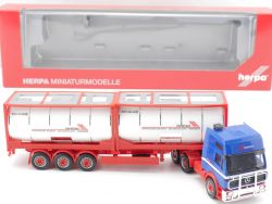 Herpa 154864 MB SK 94 Container-Sattelzug Riwatrans 2x20 ft. OVP