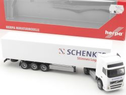Herpa 151474 Volvo FH GL Koffer-Sattelzug Schenker Stinnes NEU OVP