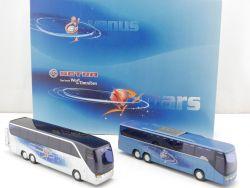 AMW AWM Werbemodell Set S 416 HDH Setra Venus Mars Reisebus OVP