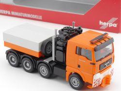 Herpa 148627 MAN TGA XL Schwerlast-Zugmaschine ZM ZGM LKW  OVP