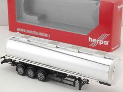Herpa 076180 Lebensmittelchromtank-Auflieger Jumbo Tank NEU! OVP