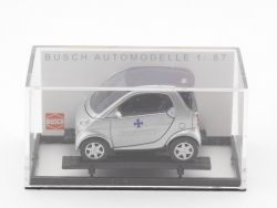 Busch 48949 Smart Fortwo Coupe Bundeswehr Fuhrpark 1/87 TOP! OVP