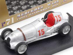 Brumm Mercedes W 125 Coppa Wanderbilt 1938 1:43 Silberpfeil  OVP
