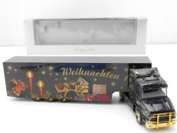 Herpa 188791 Scania Hauber SZ Christmas Weihnachten 1999 NEU OVP