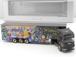 Herpa 186605 Scania R144 Topline SZ Weihnachten 1997 NEU! OVP