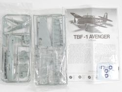 Academy 1651 TBF-1 Avenger Torpedobomber Grumman 1:72 ST