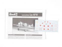 Revell 04374 Lavochkin La-5FN Jäger Flugzeug Kit 1:72 lesen!