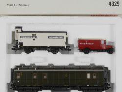 Märklin 4329 Wagen-Set Reichspost Kühlwagen Postbus KKK NEU! OVP
