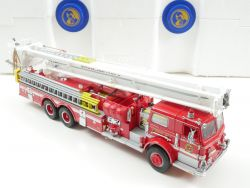 Franklin Mint Pierce Fire Engine Feuerwehr 1:32 Snorkel NEU OVP