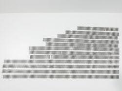 Roco 4400/4401 12x diverse Reste Flexgleise H0 Gerade