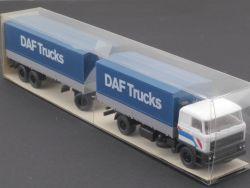 Wiking 27468 DAF Trucks 3300 Pritschen-Fernlastzug LKW NEU! OVP