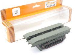 Roco 427 Minitanks Biber Panzerschnellbrücke Militär Gesuper OVP