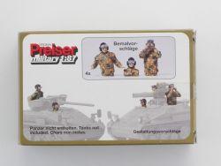 Preiser 16531 Military Panzerbesatzung Bausatz KIT H0 Lesen! OVP ZZ