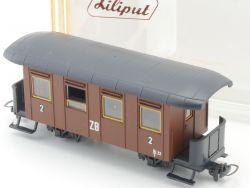 Liliput 714 Personenwagen Zillertalbahn ZB 2.Klasse H0e NEU! OVP