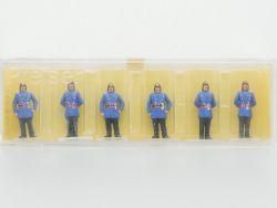 Preiser 0102 Feuerwehrmänner Polizei Preußen um 1900 H0 OVP