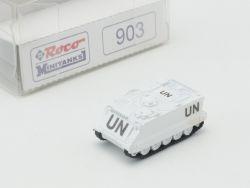 Roco 903 Minitanks Truppentransport M 113 UN Blauhelme 1:160 OVP