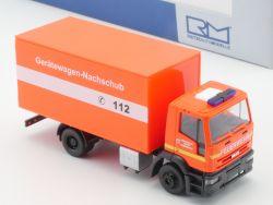 Rietze 60918 Iveco Gerätewagen Feuerwehr Rendsburg 1:87 NEU! OVP