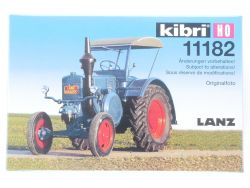 Kibri 11182 Lanz Bulldog Traktor Bausatz Landwirtschaft MIB OVP